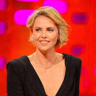 Charlize Theron is in the UK to