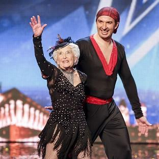Paddy Jones said she now felt well enough to dance again with her partner Nico in the Britain's Got Talent semi-finals (ITV/PA)