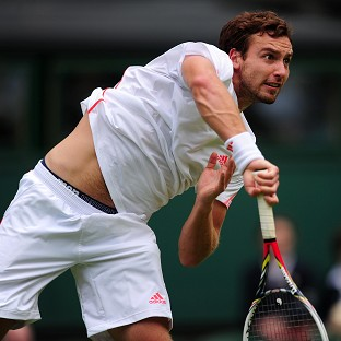 Latvia's Ernests Gulbis, pictured, will play Roger Federer in the fourth round of the French Open