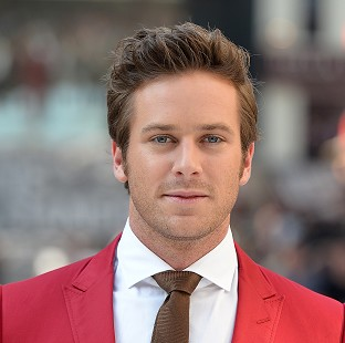 Armie Hammer has revealed he is going to be a dad