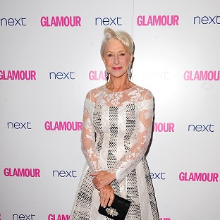 Dame Helen Mirren at the 2014 Glamour Women of the Year Awards in Berkeley Square, London.