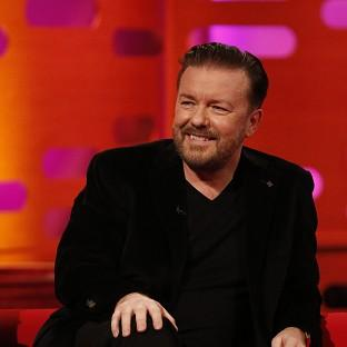 Ricky Gervais is trying to be healthier and fitter