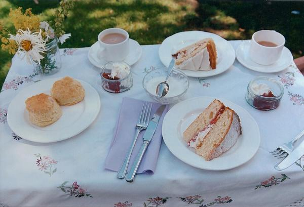 Shawford cottage hosts fundraising cream tea