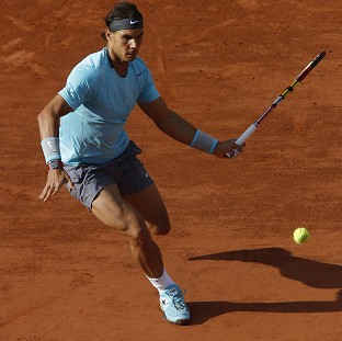 Rafael Nadal is on course for yet another French Open title (AP)