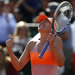 Maria Sharapova enjoys playing at Roland Garros (AP)