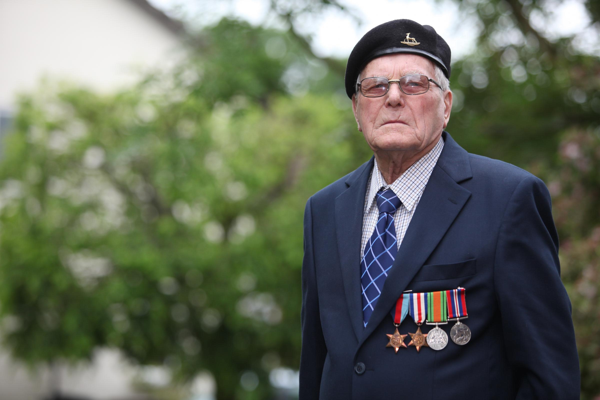 D-Day veterans return to Normandy for 70th anniversary