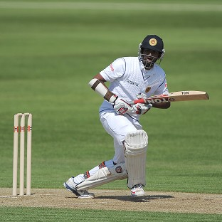 Lahiru Thirimanne, right, was in fine form once again with the bat