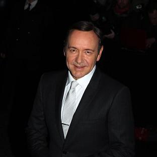 Kevin Spacey enjoys the companionship of theatre