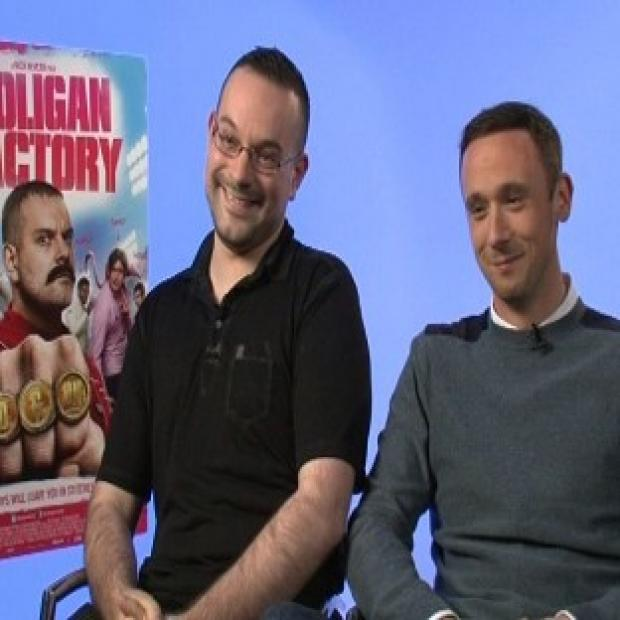 Hampshire Chronicle: Nick Nevern and Jason Maza star in The Hooligan Factory