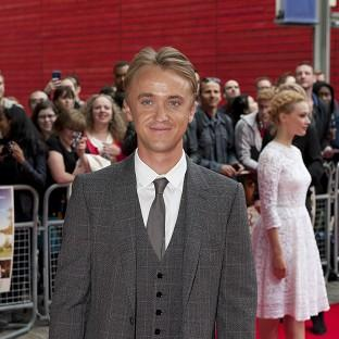 Tom Felton admitted he enjoys playing the villain