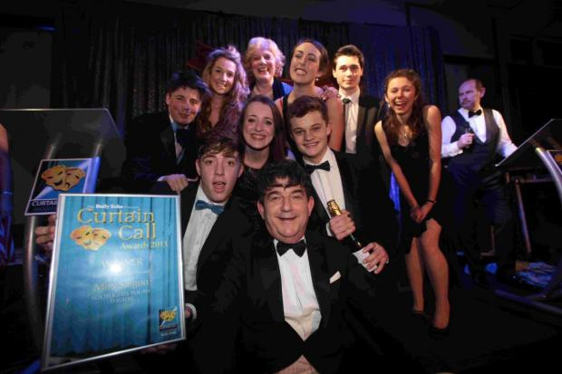 Footlights Youth Theatre won several categories at The Southern Daily Echo's Curtain Call Awards 2013