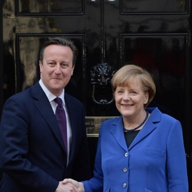 Hampshire Chronicle: David Cameron is to continue talks with German leader Angela Merkel in Sweden