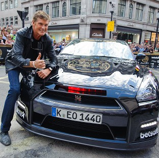 David Hasselhoff tried to blame KITT for speeding