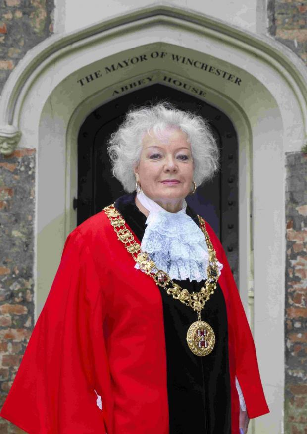 Hampshire Chronicle: Cllr Berry has become Winchester's 815th mayor