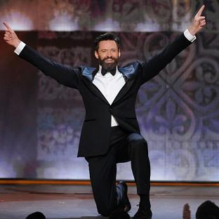 Hugh Jackman has said goodbye to the lustrous locks he sported when he hosted the Tony Awards recently