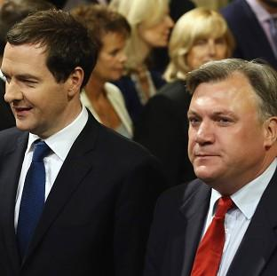 Ed Balls (right) has vowed an alternative to George Osborne's