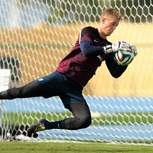 Joe Hart has spoken of the good relationship he enjoys with his fellow England goalkeepers