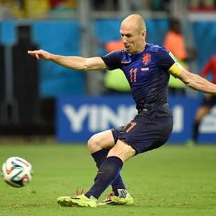 Arjen Robben has urged caution after Holland's superb World Cup win over Spain