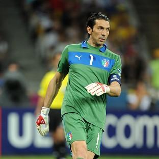 Gianluigi Buffon has been ruled out of the clash against England by an ankle problem