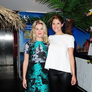 Hannah Arterton says she and sister Gemma are always ex