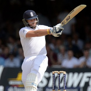 Matt Prior leads England's charge