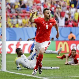Haris Seferovic arrived off the bench to score the winner (AP)