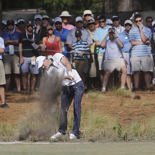 Martin Kaymer continued to lead the way on Sunday (AP)