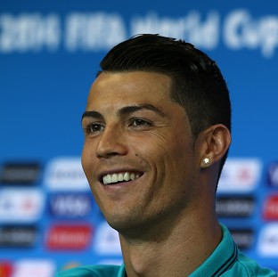 Cristiano Ronaldo declared himself fully fit at a press conference