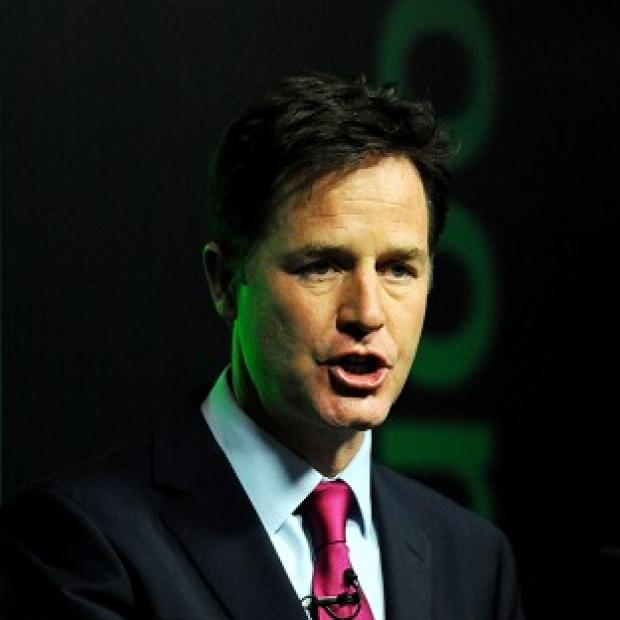 Hampshire Chronicle: Nick Clegg is at odds with the Tories over trade union funding