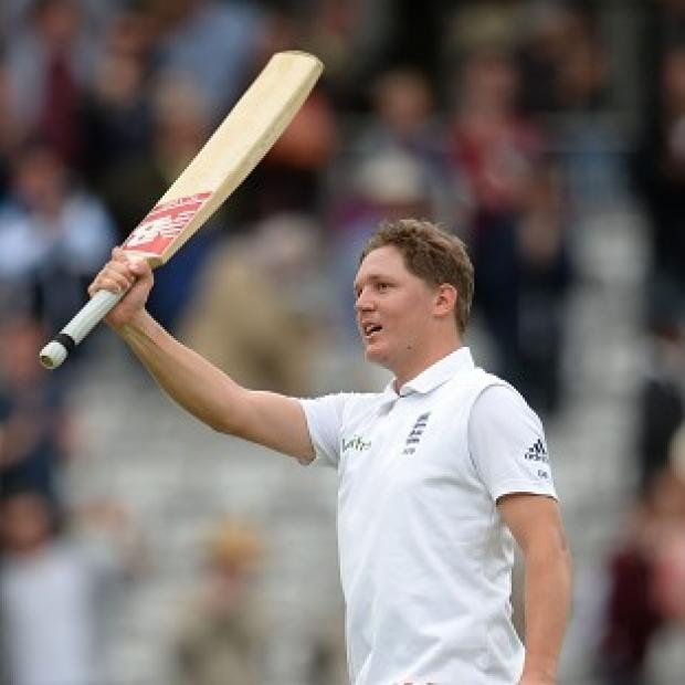 Hampshire Chronicle: Gary Ballance helped England build a big lead