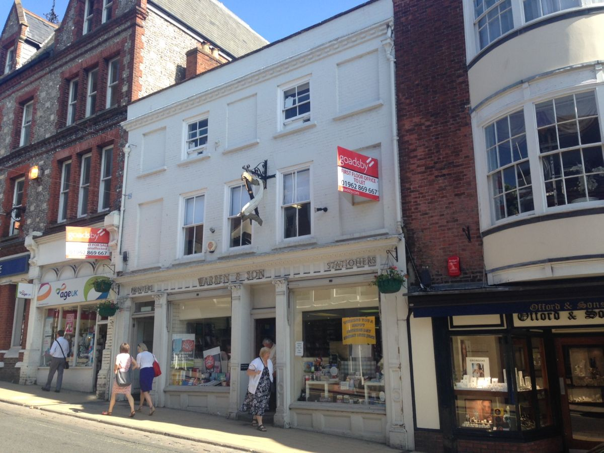 Winchester city centre office on market