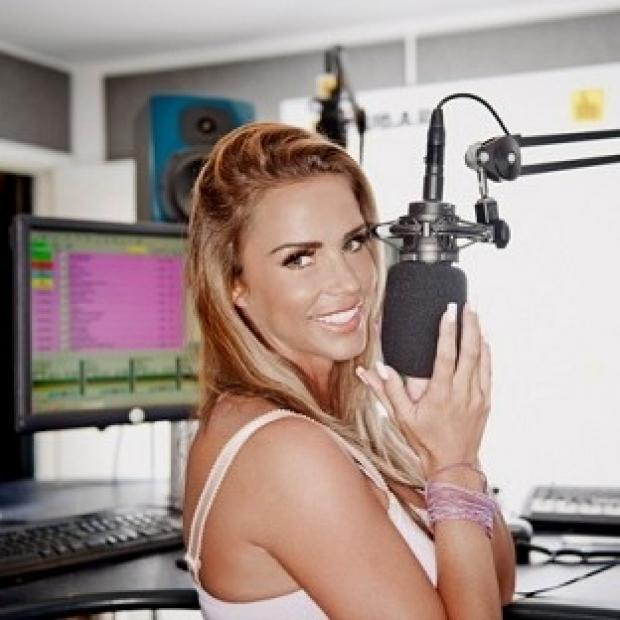 Hampshire Chronicle: Katie Price will co-host her own weekly radio show