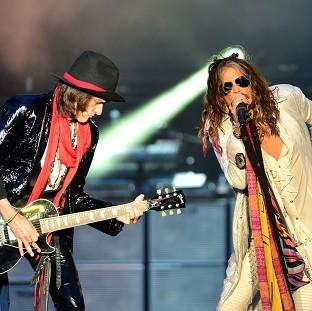 Aerosmith's Joe Perry and Steven Tyler put aside their differences to h