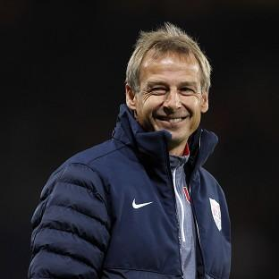 Jurgen Klinsmann was naturally delighted by his team's late winner