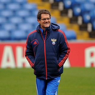 Fabio Capello was delighted with how Russia responded
