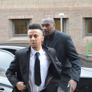 Former N-Dubz singer Dappy arrives at Chelmsford Magistrates' Court