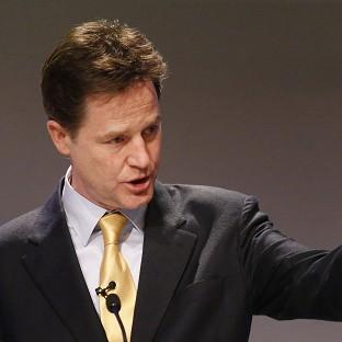 Nick Clegg is reported to be under pressure to match David Camero