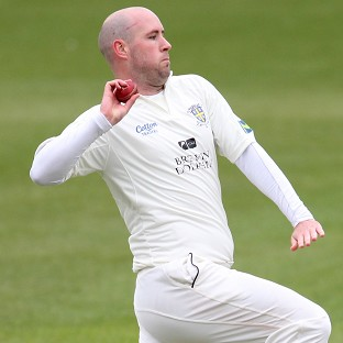 Chris Rushworth claimed the final wicket for Durham