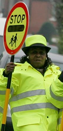 Tributes have been paid to late lollipop lady Hazel Broadway, pictured