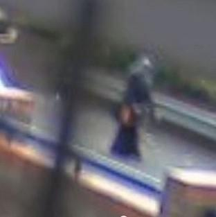 Hampshire Chronicle: CCTV footage of Nahid Almanea, 31, as she walked along a footpath in Colchester, Essex