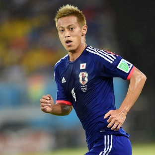 Keisuke Honda knows Japan will have to play at their best against Colombia if they are to reach the knockout stages of the World Cup