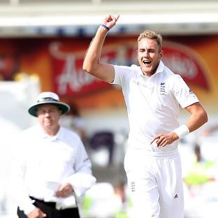 Stuart Broad is just the fourth bowler in history to take two Test hat-tricks