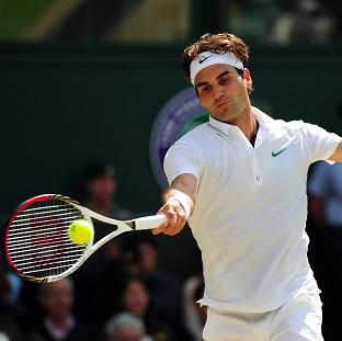 Roger Federer is targeting an eighth Wimbledon title