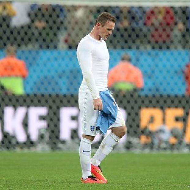 Hampshire Chronicle: Wayne Rooney says the England players are hurting after they were knocked out of the World Cup