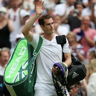 Andy Murray won the first match of his Wimbledon defence