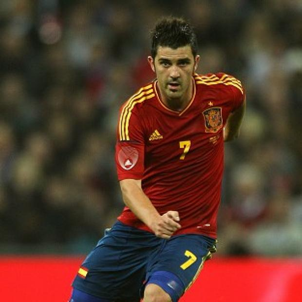 Hampshire Chronicle: Spain striker David Villa signed off his international career with his 59th goal in 97 games in the 3-0 World Cup victory over Australia