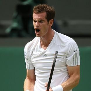Andy Murray, pictured, made light work of Belgium's David Goffin