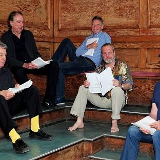 Terry Jones, Eric Idle, Michael Palin, Terry Gilliam and John Cleese are reuniting for their new show Monty Python Live (Mo