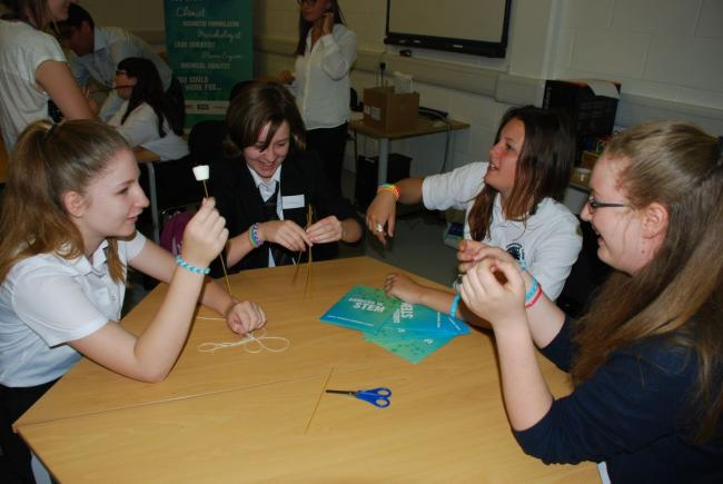 Winchester Science Centre and Planetarium invited girls aged 12-14 from nine schools to join in workshops and network with female engineers.