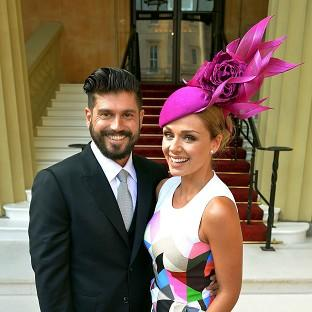 Katherine Jenkins is planning her wedding to Andrew Levitas